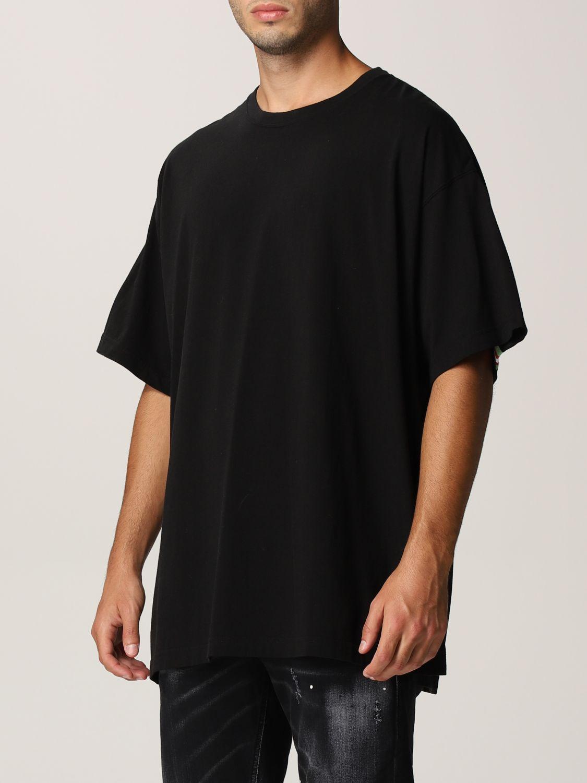 T-shirt Facetasm: T-shirt men Facetasm black 3