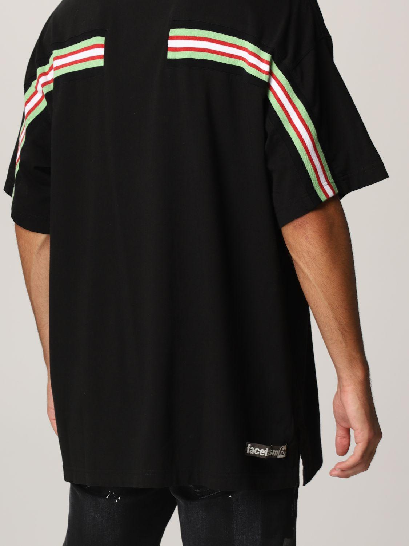 T-shirt Facetasm: T-shirt men Facetasm black 4