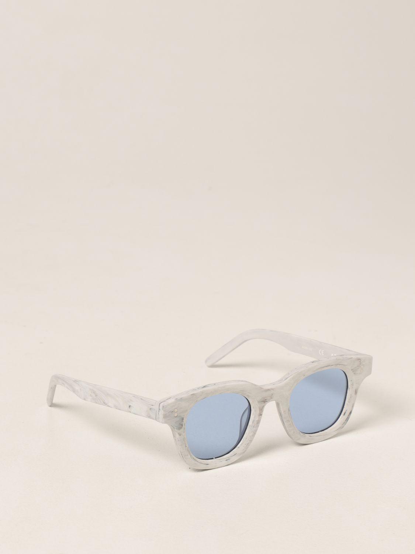 Occhiali Facetasm: Occhiali da sole Facetasm in acetato bianco 1