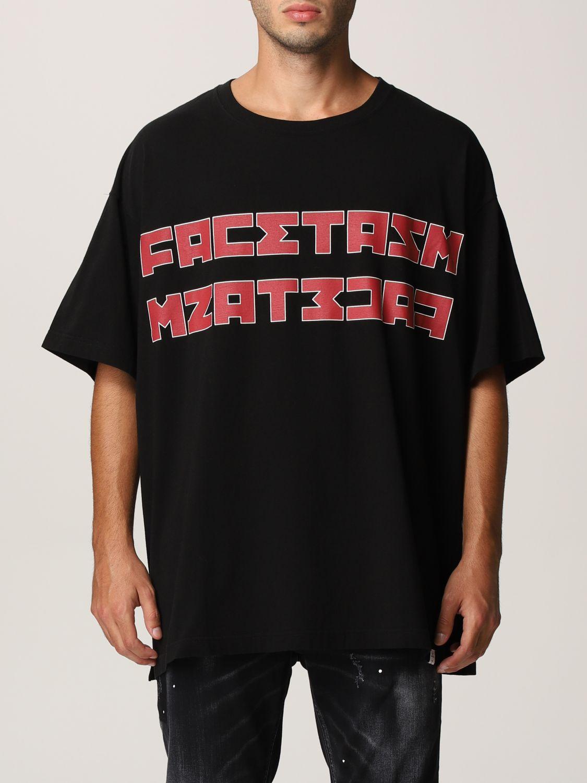 Футболка Facetasm: Футболка Мужское Facetasm черный 1