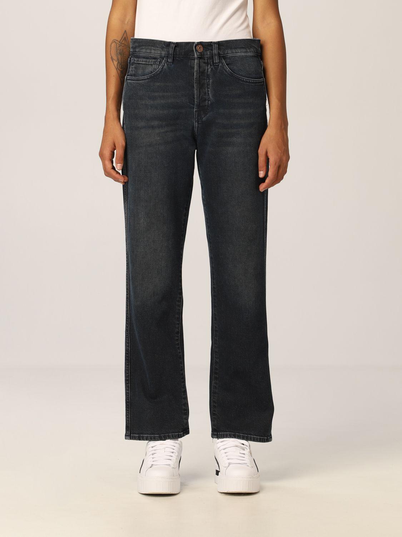 Jeans 3X1: Pantalone donna 3x1 nero 1