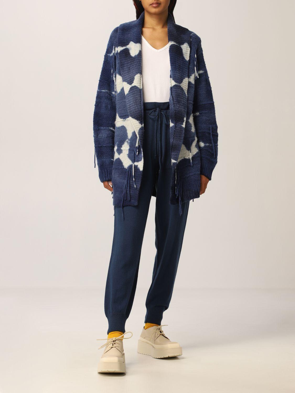 Pantalone Canessa: Pantalone donna Canessa blue navy 2