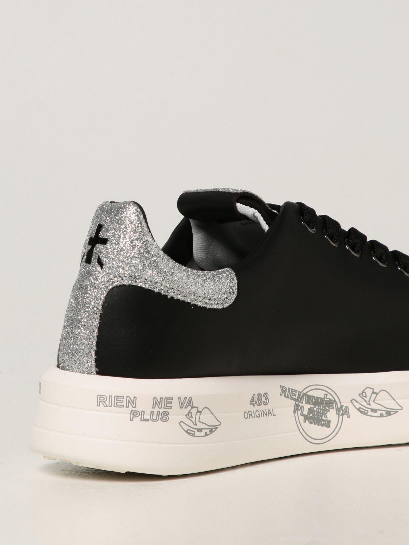Sneakers Premiata: Sneakers Belle Premiata in pelle liscia nero 3