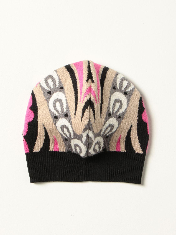 Hat girl Emilio Pucci: Hat girl kids Emilio Pucci fuchsia 2