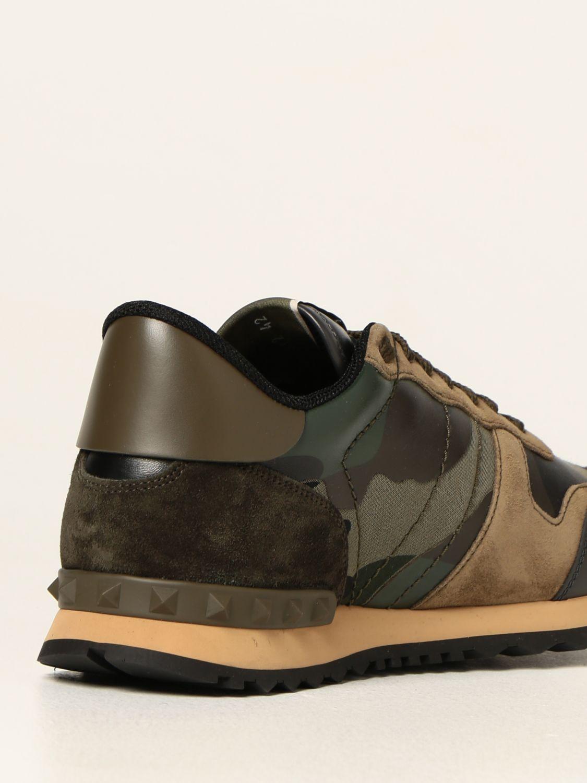 Sneakers Valentino Garavani: Sneakers Rock Runner Valentino Garavani camouflage verde 3