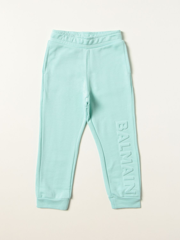 Pants Balmain: Pants kids Balmain sky blue 1