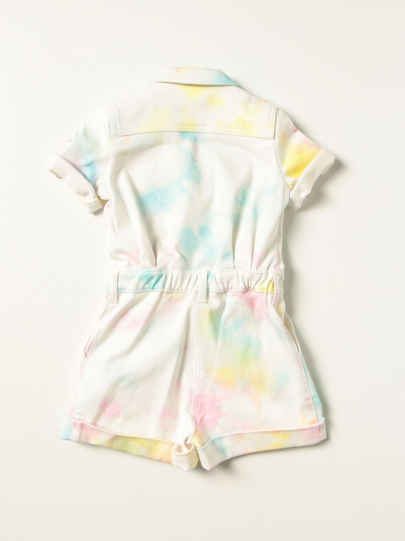 Tracksuit Balmain: Balmain tie dye cotton romper multicolor 2
