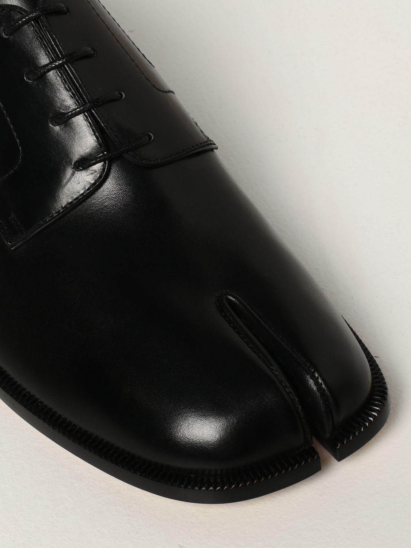 Zapatos de cordones Maison Margiela: Zapatos hombre Maison Margiela negro 4