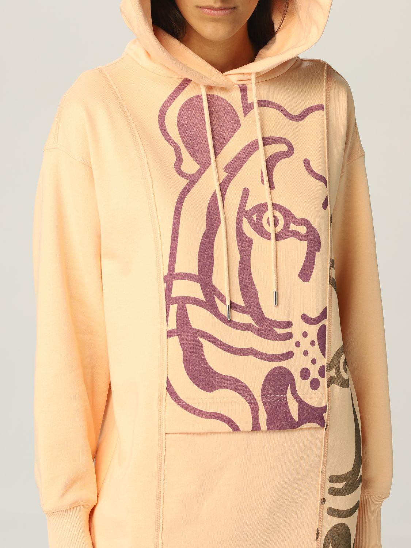 Abito Kenzo: Abito a felpa Kenzo con tigre rosa 4