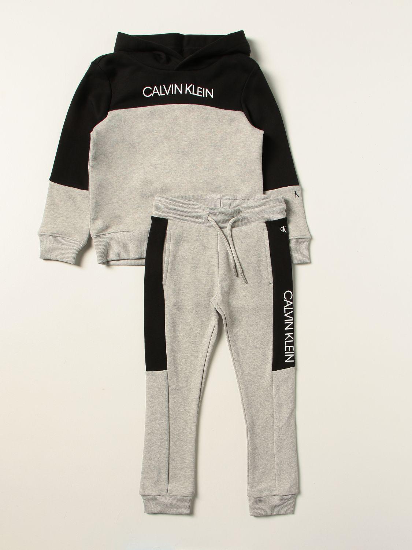 Completo Calvin Klein: Completo bambino Calvin Klein grigio 1