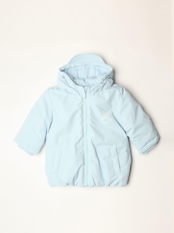 Veste Kenzo Junior: Veste enfant Kenzo Junior bleu azur 1