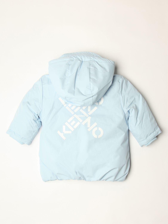 Veste Kenzo Junior: Veste enfant Kenzo Junior bleu azur 2