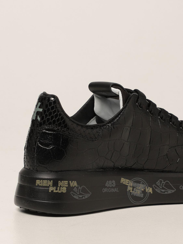 Sneakers Premiata: Sneakers Belle Premiata in pelle stampa cocco nero 3
