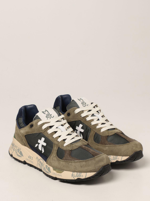 Sneakers Premiata: Sneakers Mase Premiata in nylon e camoscio bosco 2