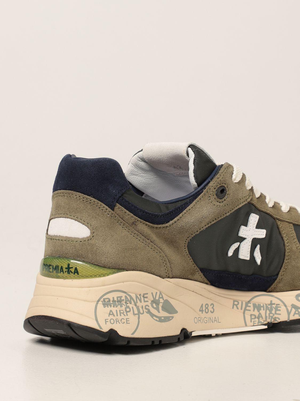 Sneakers Premiata: Sneakers Mase Premiata in nylon e camoscio bosco 3