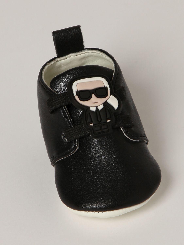 Обувь Karl Lagerfeld Kids: Обувь Детское Karl Lagerfeld Kids черный 4