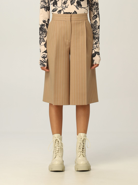 Pantaloncino Msgm: Pantaloncino donna Msgm cammello 1