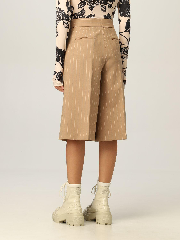 Pantaloncino Msgm: Pantaloncino donna Msgm cammello 3