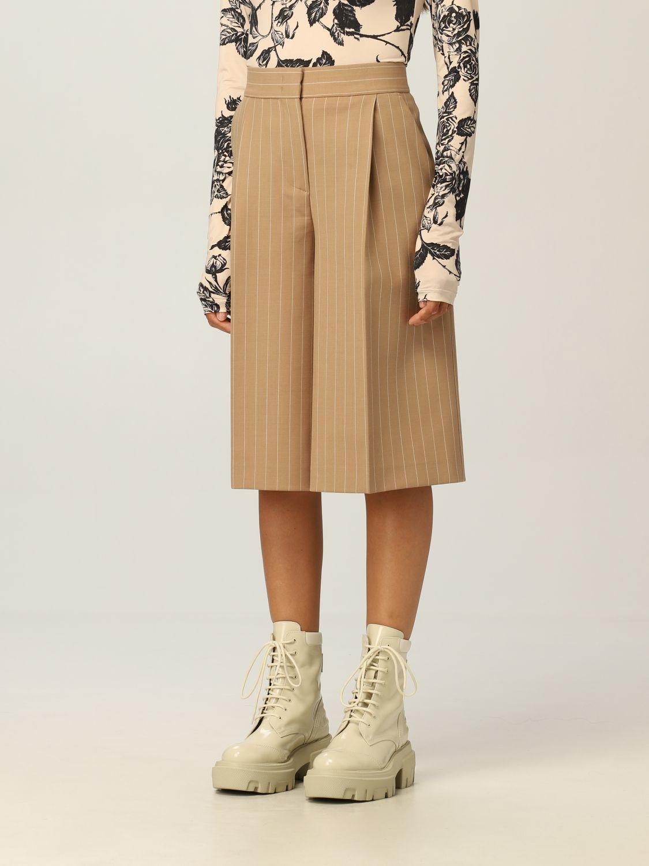Pantaloncino Msgm: Pantaloncino donna Msgm cammello 4