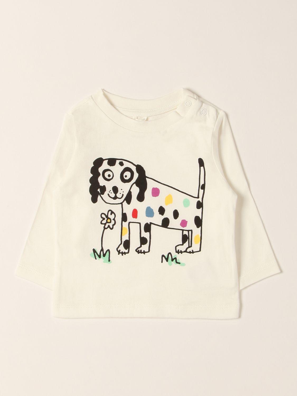 T-shirt Stella Mccartney: T-shirt Stella McCartney con stampa bianco 1