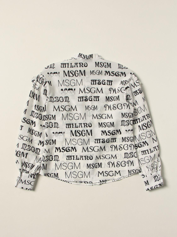 Shirt Msgm Kids: Shirt kids Msgm Kids white 2