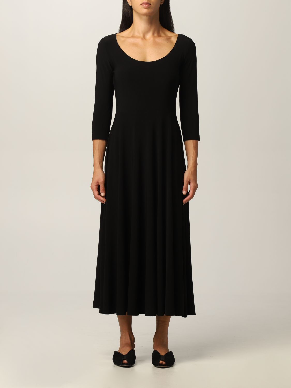 连衣裙 Norma Kamali: 连衣裙 女士 Norma Kamali 黑色 1