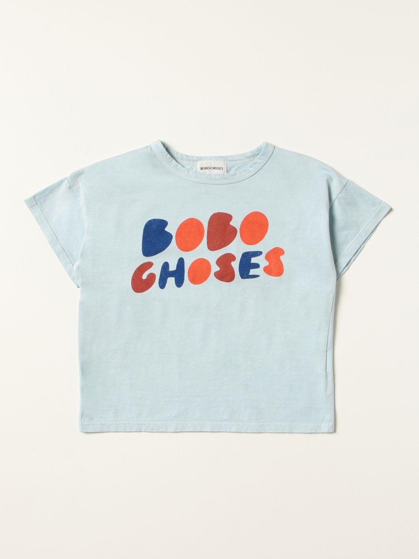 Футболка Bobo Choses: Футболка Детское Bobo Choses небесно-голубой 1