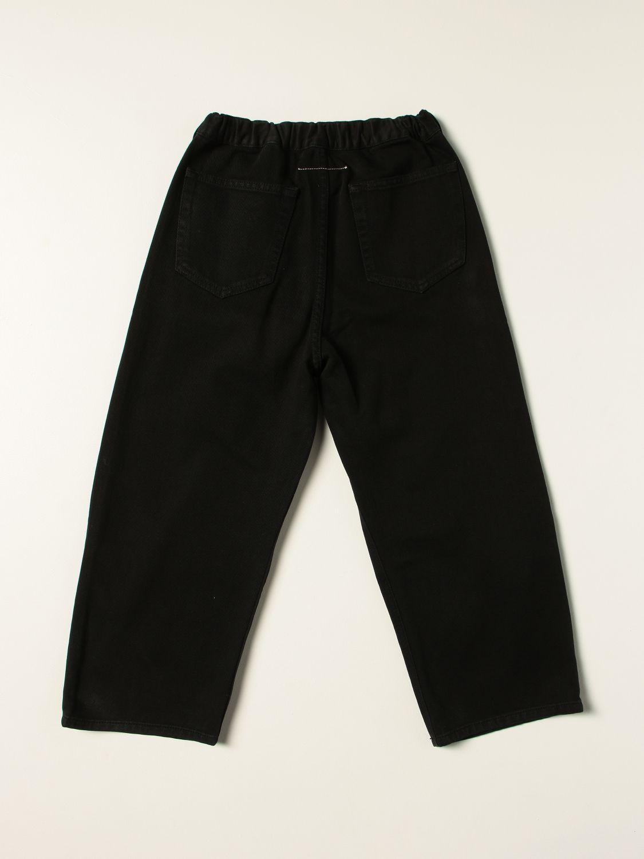 裤子 Mm6 Maison Margiela: 裤子 儿童 Mm6 Maison Margiela 黑色 2