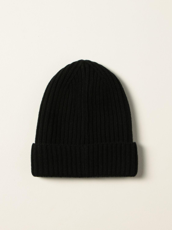 Hat Dolce & Gabbana: Dolce & Gabbana bobble hat with logo black 2