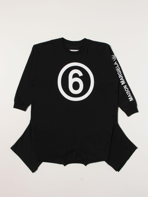Robe Mm6 Maison Margiela: Robe enfant Mm6 Maison Margiela noir 1