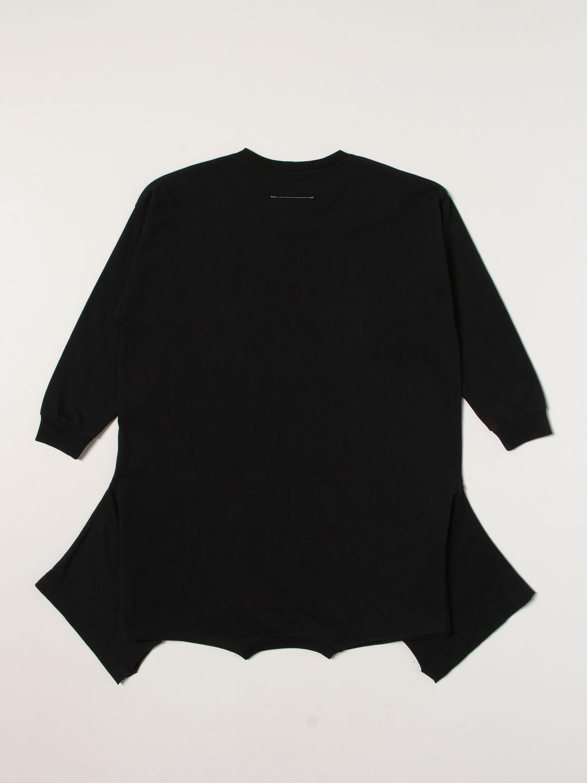 Robe Mm6 Maison Margiela: Robe enfant Mm6 Maison Margiela noir 2