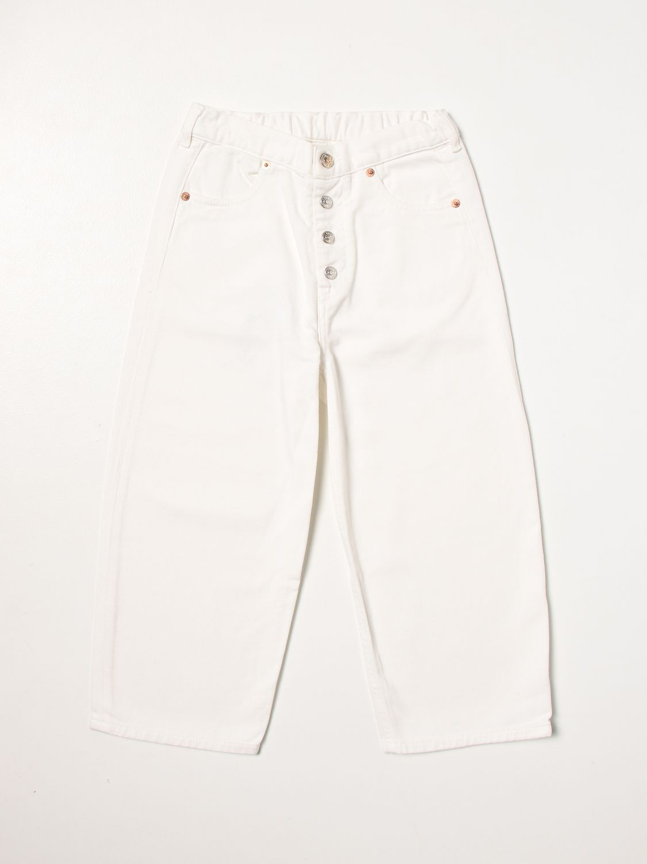 Pantalon Mm6 Maison Margiela: Pantalon enfant Mm6 Maison Margiela blanc 1