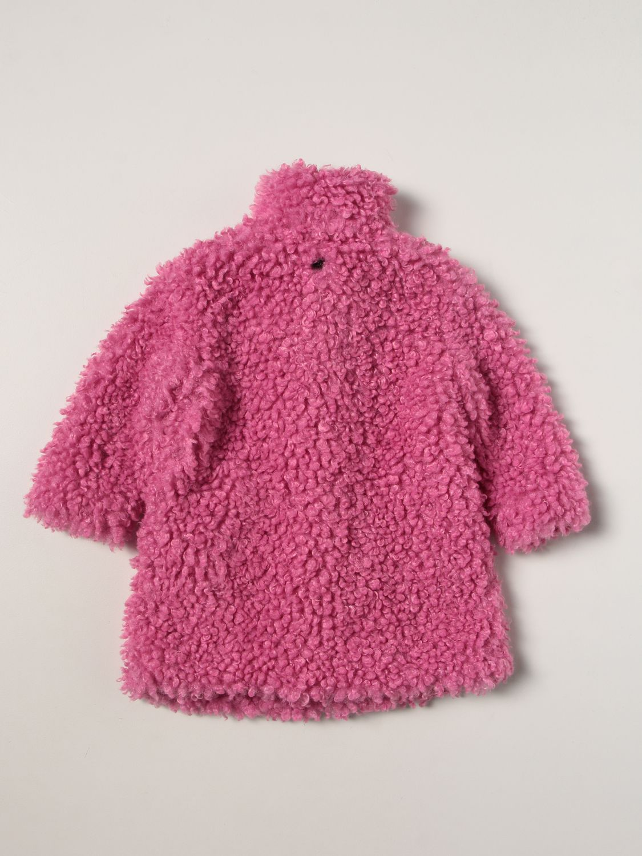 Coat Twin Set: Coat kids Twin Set pink 2