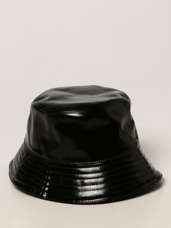Cappello bambino Burberry: Cappello Burberry in cotone spalmato nero 2