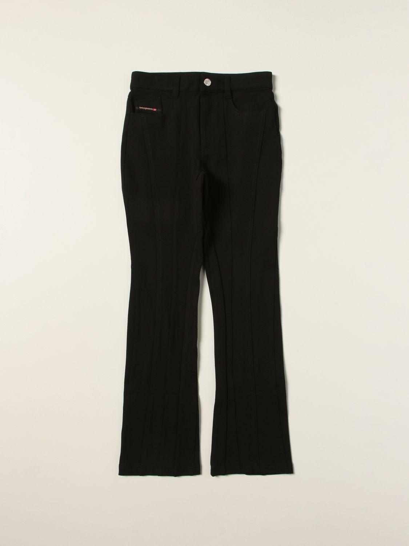 Pants Diesel: Diesel pants in Milan stitch black 1