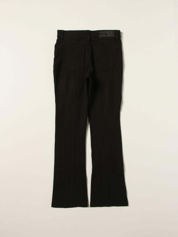 Pants Diesel: Diesel pants in Milan stitch black 2
