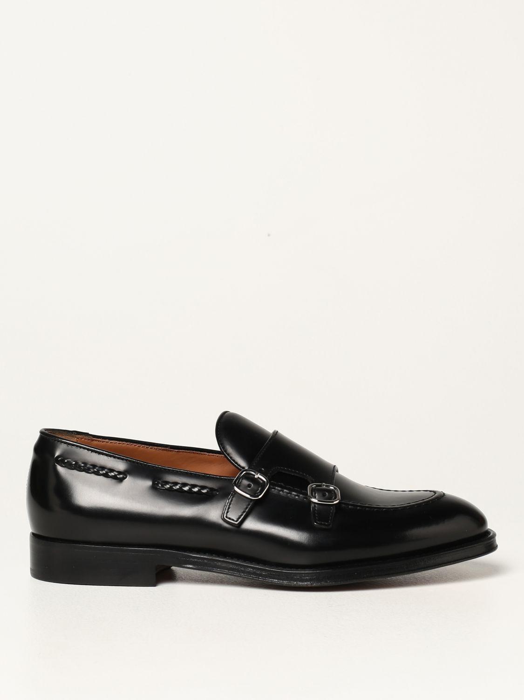 Mocasines Doucal's: Zapatos de cordones hombre Doucal's negro 1
