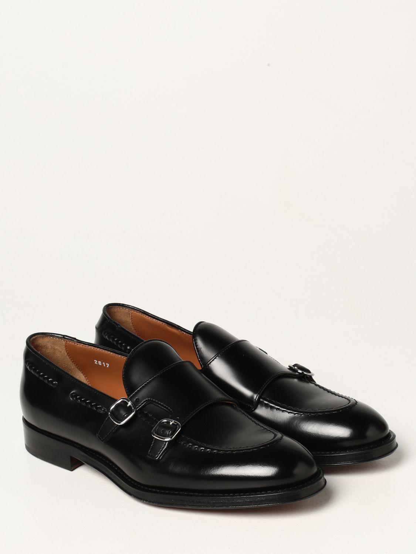 Mocasines Doucal's: Zapatos de cordones hombre Doucal's negro 2
