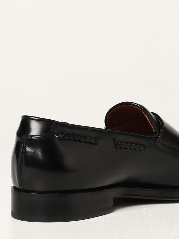 Mocasines Doucal's: Zapatos de cordones hombre Doucal's negro 3