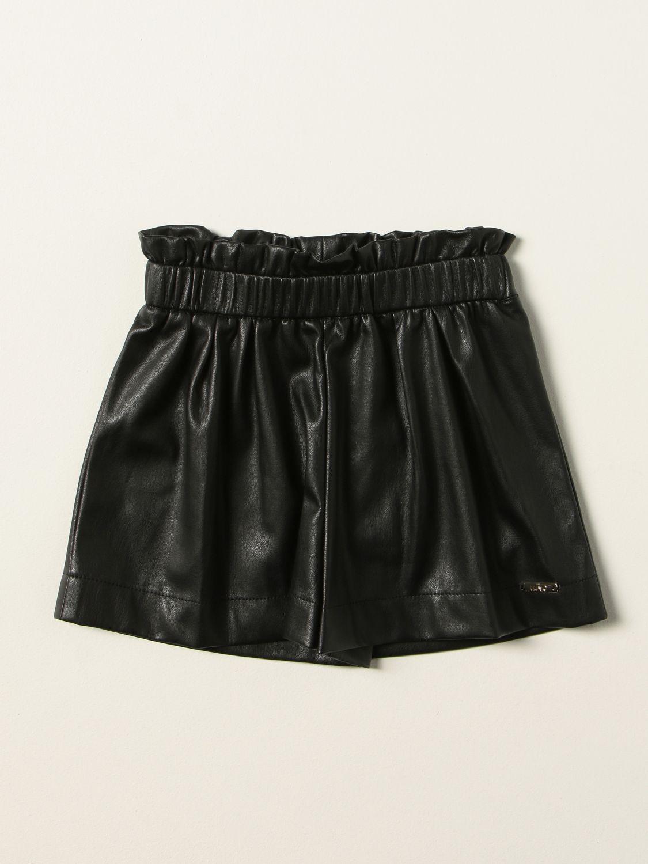 Shorts Liu Jo: Liu Jo laminated shorts black 1
