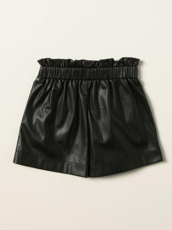 Shorts Liu Jo: Liu Jo laminated shorts black 2