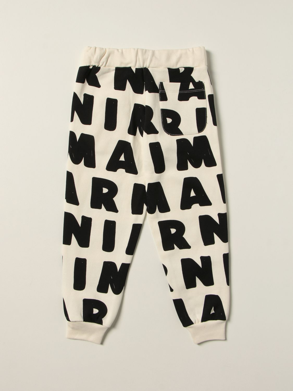 Pantalon Marni: Pantalon enfant Marni lait 2