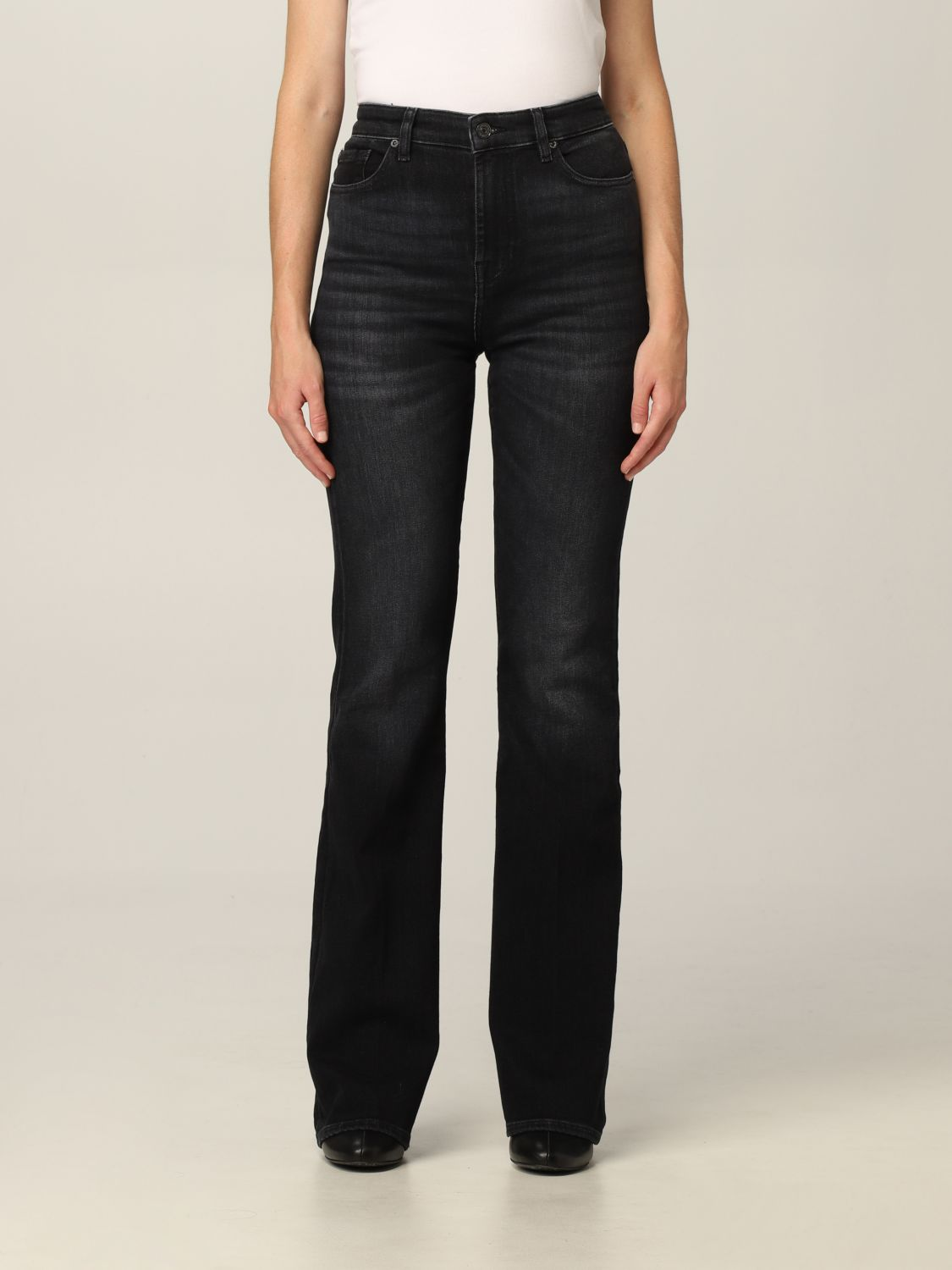 Jeans 7 For All Mankind: Jeans donna 7 For All Mankind nero 1