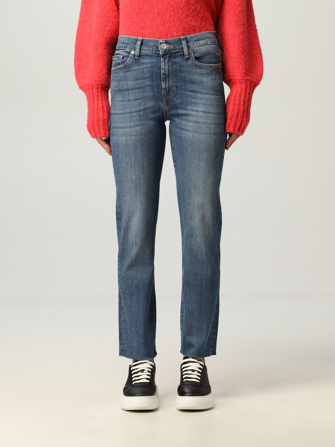 Jeans 7 For All Mankind: Jeans donna 7 For All Mankind blue 1