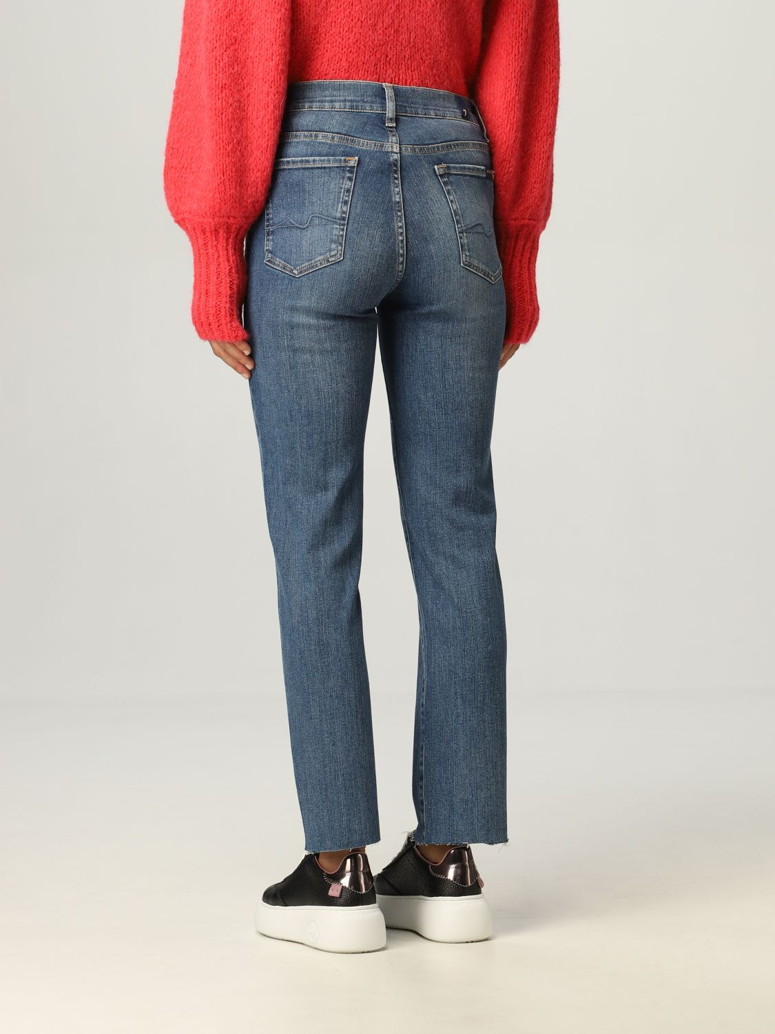 Jeans 7 For All Mankind: Jeans donna 7 For All Mankind blue 2