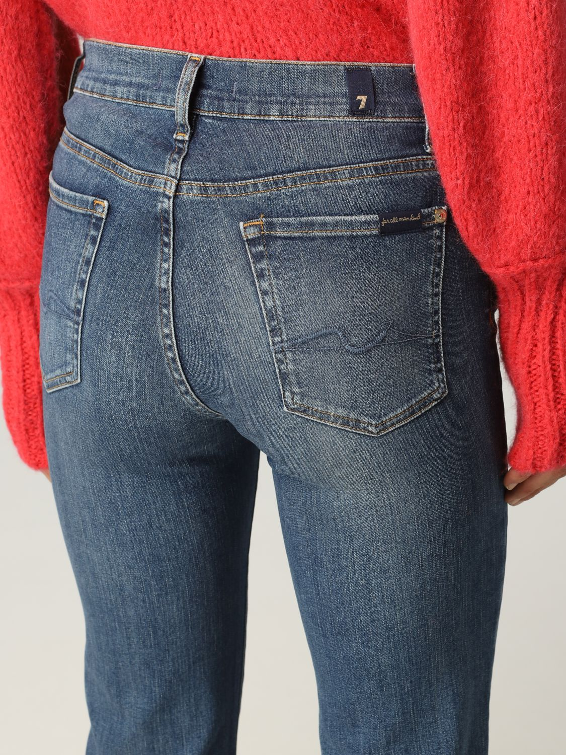 Jeans 7 For All Mankind: Jeans donna 7 For All Mankind blue 3