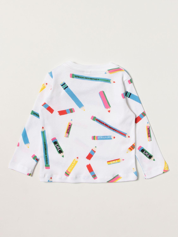T-shirt Stella Mccartney: T-shirt Stella McCartney con stampe all over bianco 2