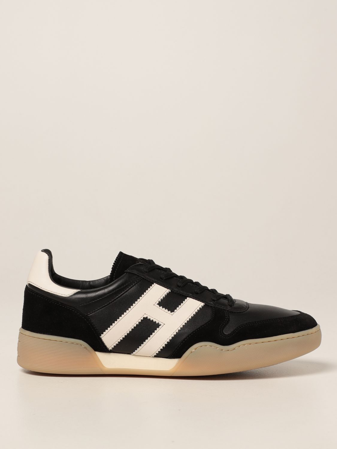 H357 Hogan sneakers in leather and suede