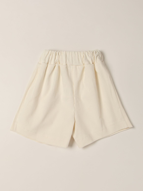 Short Piccola Ludo: Short kids Piccola Ludo brown 2