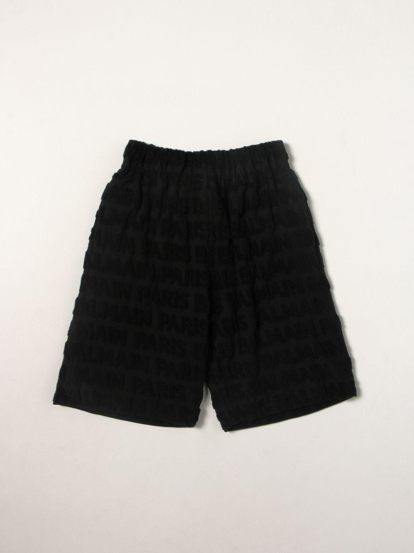 Short Balmain: Short kids Balmain black 1